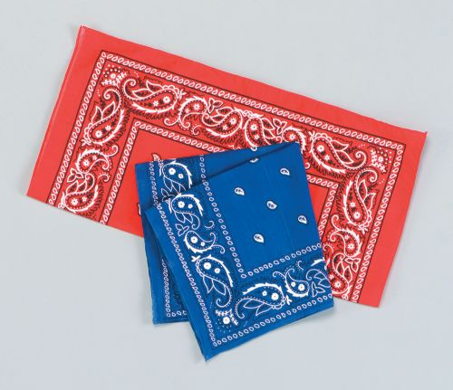 Cowboy Bandana American Wild West & Indians Fancy Dress Accessory